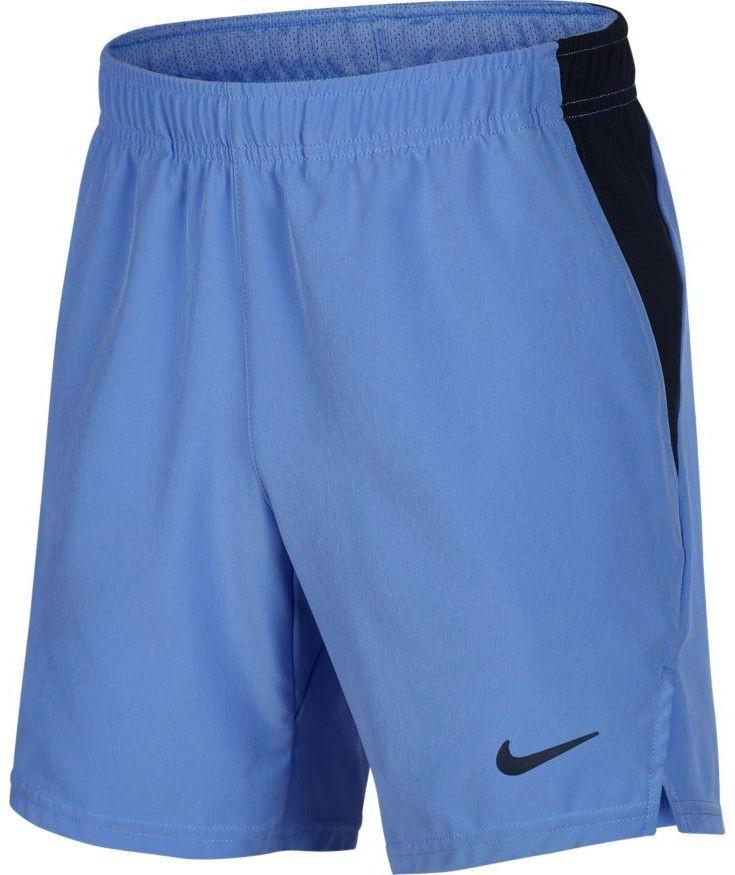Теннисные шорты детские Nike Boys Court Flex Ace Short royal pulse/obsidian/obsidian