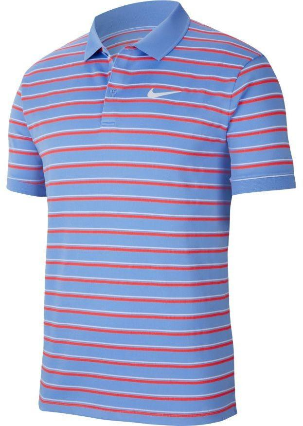 Теннисная футболка мужская Nike Court Dry Pique Polo GX royal pulse/white