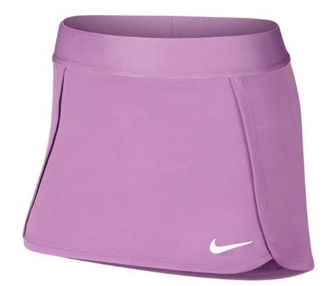 Теннисная юбка детская Nike Court Skirt STR purple nebula/white