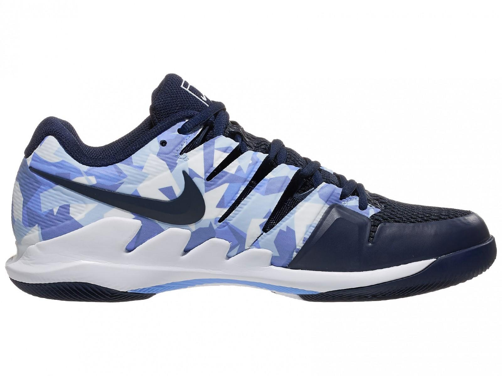 Теннисные кроссовки мужские Nike Air Zoom Vapor X royal pulse/white/indigo storm/obsidian