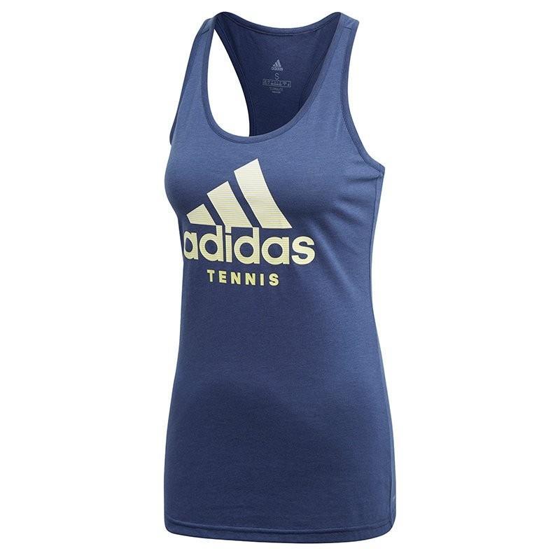 Теннисная майка женская Adidas Category Tennis Tank noble indigo