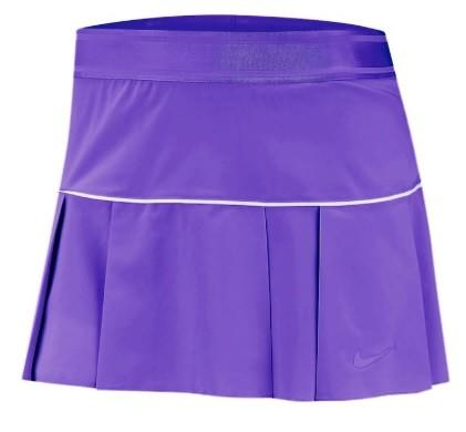 Теннисная юбка женская Nike Court Victory Skirt psychic purple/white