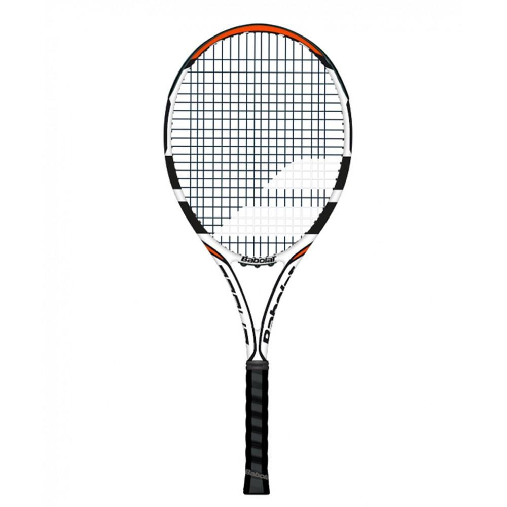 Теннисная ракетка Babolat Eagle white/black