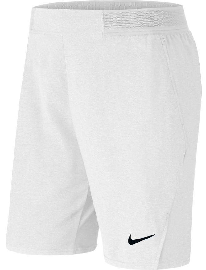 Теннисные шорты мужские Nike Court Flex Ace 9 inch Short white/black