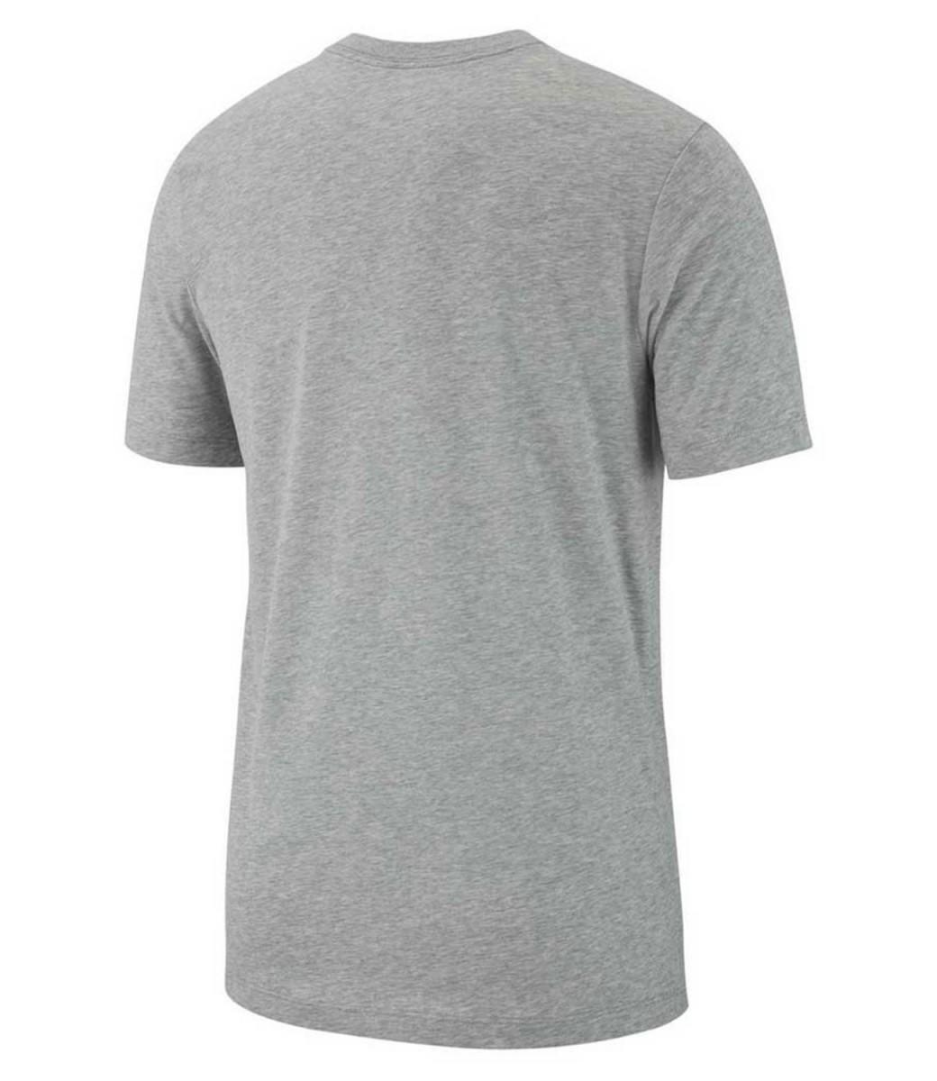 Теннисная футболка мужская Nike Dry Tee Dfc Crew Solid dark grey heather/black