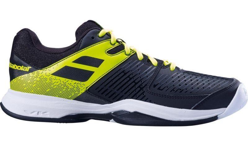 Теннисные кроссовки мужские Babolat Pulsion All Court black/volt