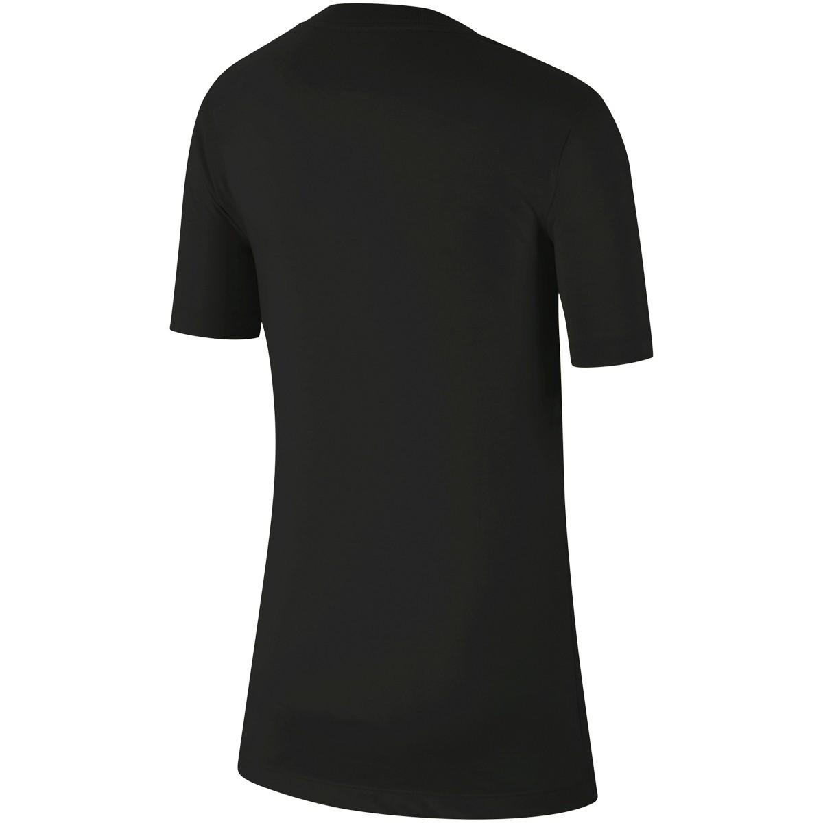 Теннисная футболка детская Nike Dry Tee Rafa black/volt