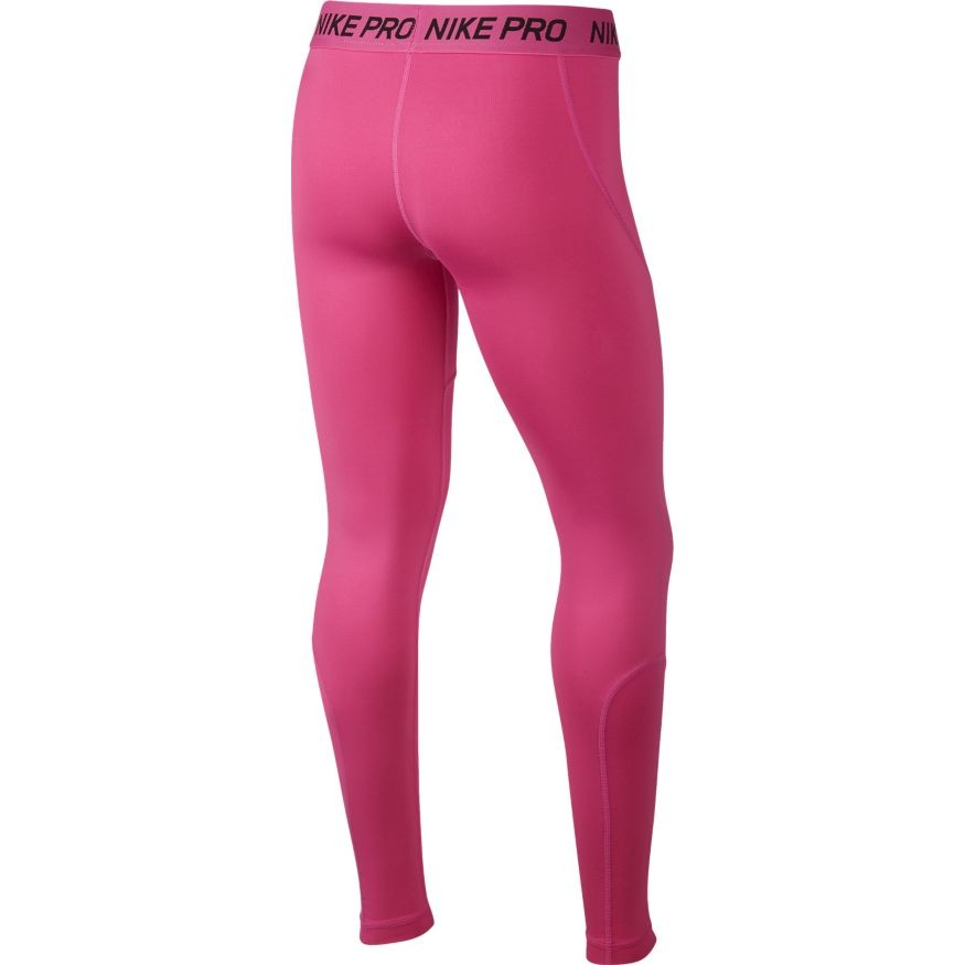 Легинсы детские Nike Sportswear Girl's Leggings active fuchsia/active fuchsia/black