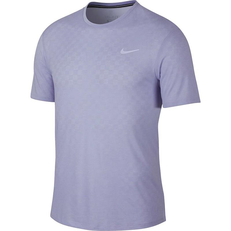 Теннисная футболка мужская Nike Court Challenger Top SS purple