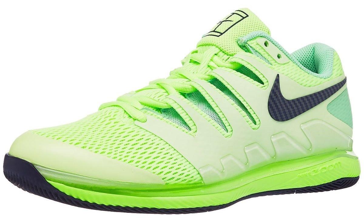 Теннисные кроссовки мужские Nike Air Zoom Vapor X ghost green/blackened blue