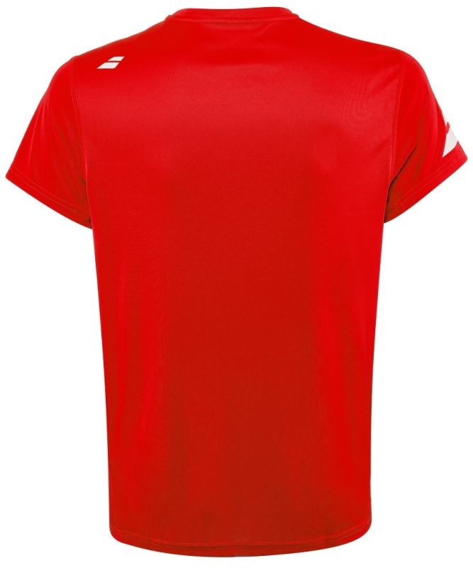 Теннисная футболка мужская Babolat Core Flag Club Tee Men fiery red
