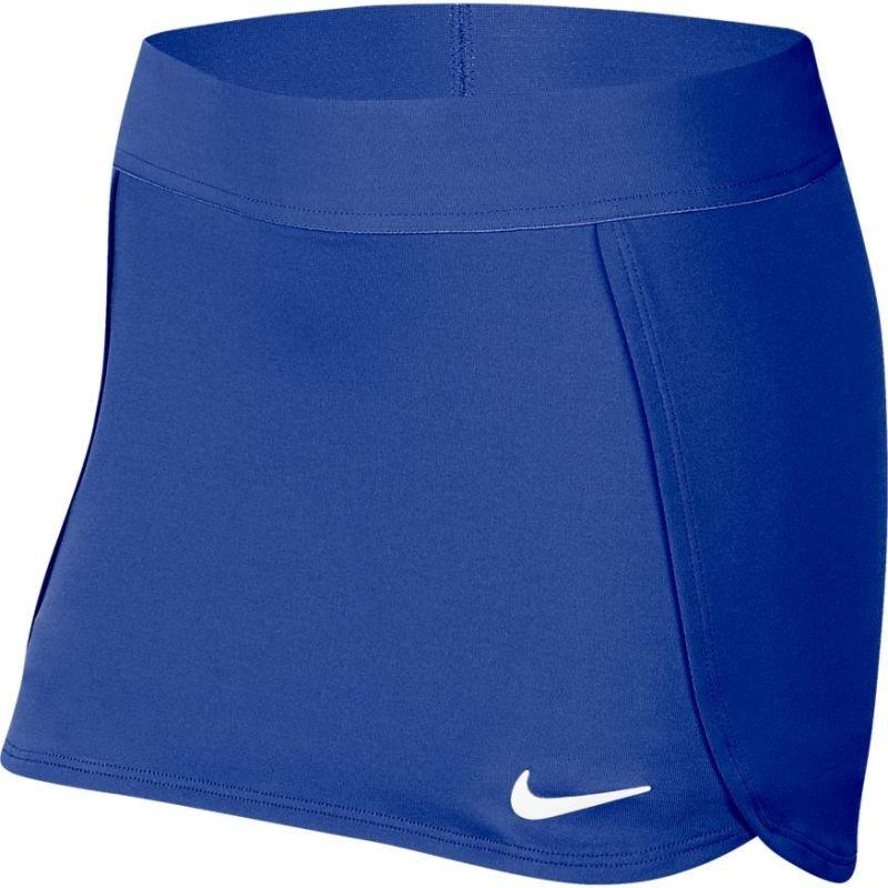 Теннисная юбка детская Nike Court Skirt STR game royal/white