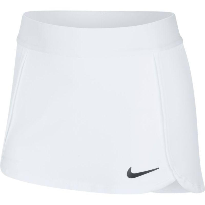 Теннисная юбка детская Nike Court Skirt STR white/black