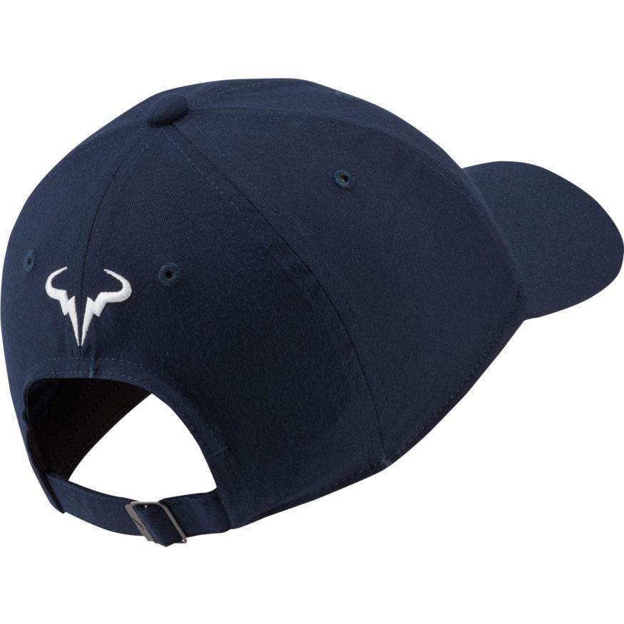 Теннисная кепка Nike Rafa U Aerobill H86 Cap obsidian/white