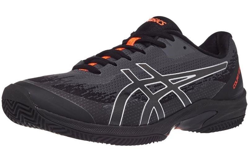 Теннисные кроссовки мужские Asics Court Speed FF Clay L.E. black/sunrise red
