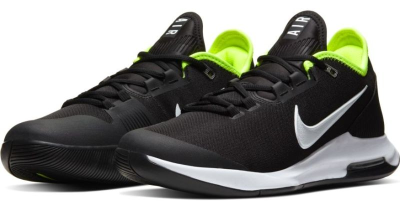Теннисные кроссовки мужские Nike Air Max Wildcard black/white/volt