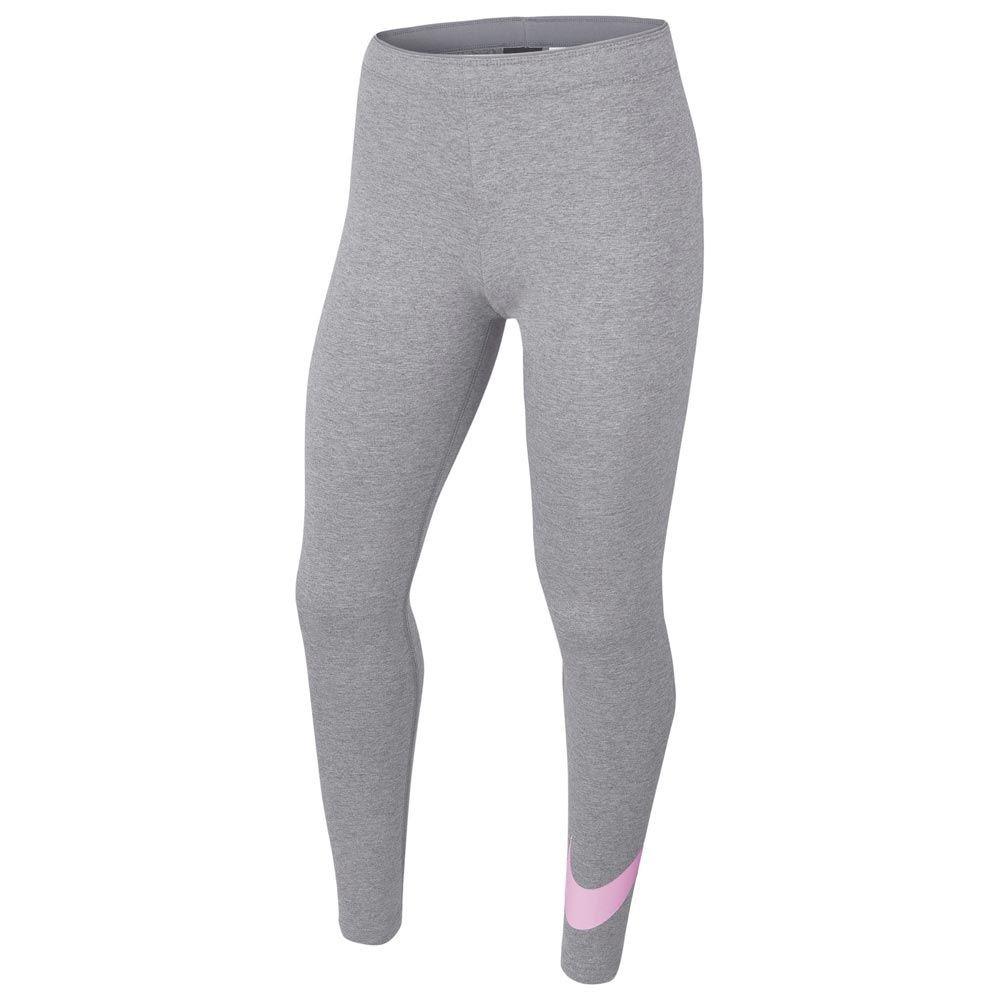 Легинсы детские Nike Favorites Swoosh Tight grey/pink