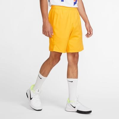 Теннисные шорты мужские Nike Court Dry 9in Short sundial/sundial/sundial