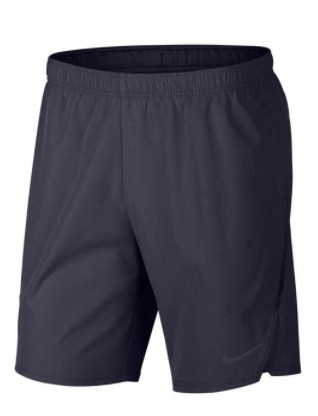 Теннисные шорты мужские Nike Flex Ace 9IN Short gridiron/gridiron/gridiron