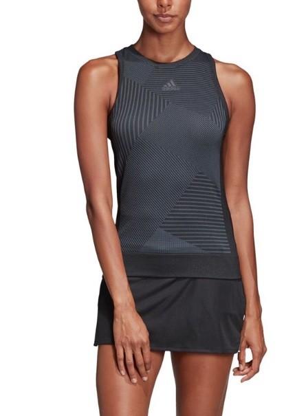 Теннисная майка женская Adidas Match Code Tank black