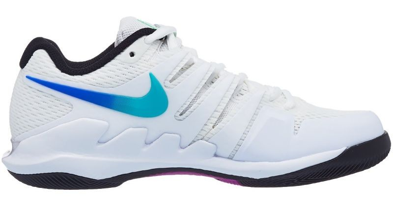Теннисные кроссовки женские Nike WMNS Air Zoom Vapor 10 HC summit white/white/black