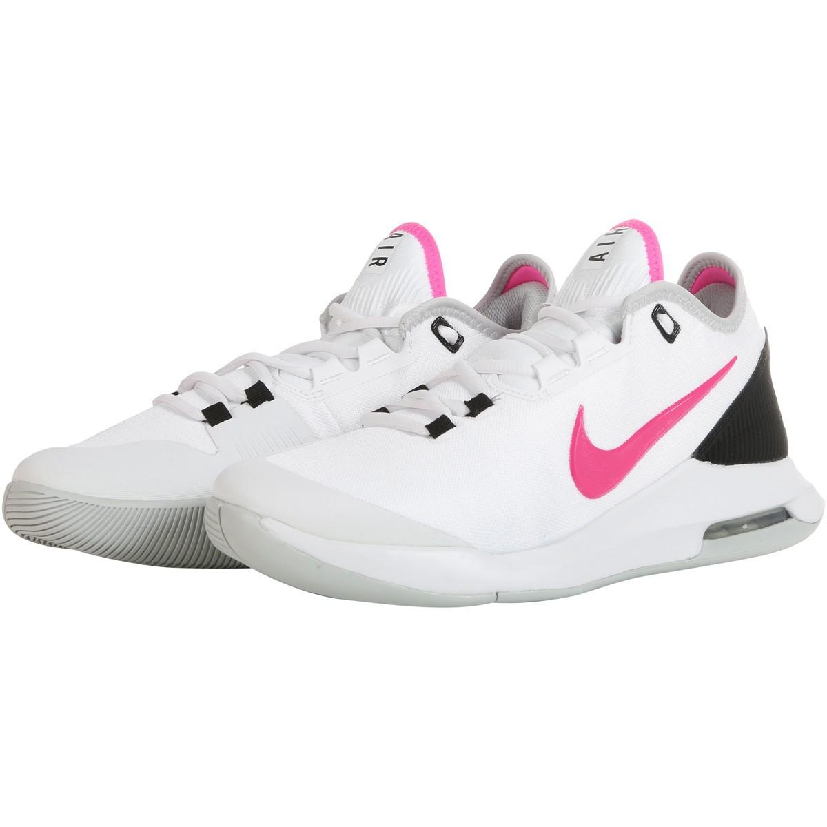 Теннисные кроссовки женские Nike WMNS Air Max Wildcard white/laser fuchsia/grey fog