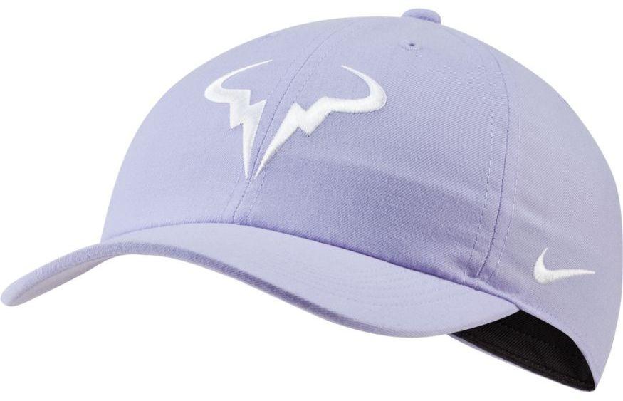 Теннисная кепка Nike Rafa U Aerobill H86 Cap purple pulse/white