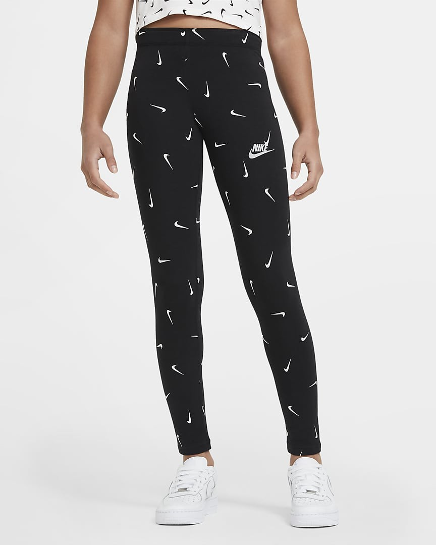 Леггинсы детские Nike Sportswear Air Favorites Leggings black/white