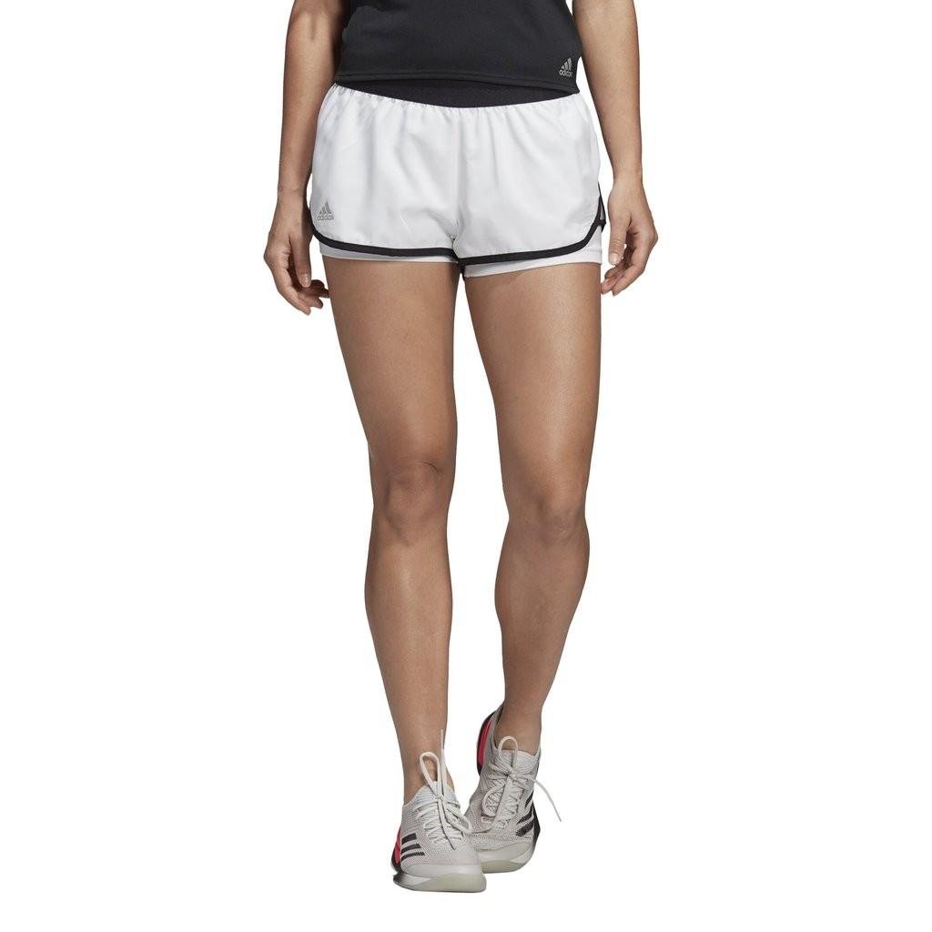 Теннисные шорты женские Adidas Women's Club Shorts white