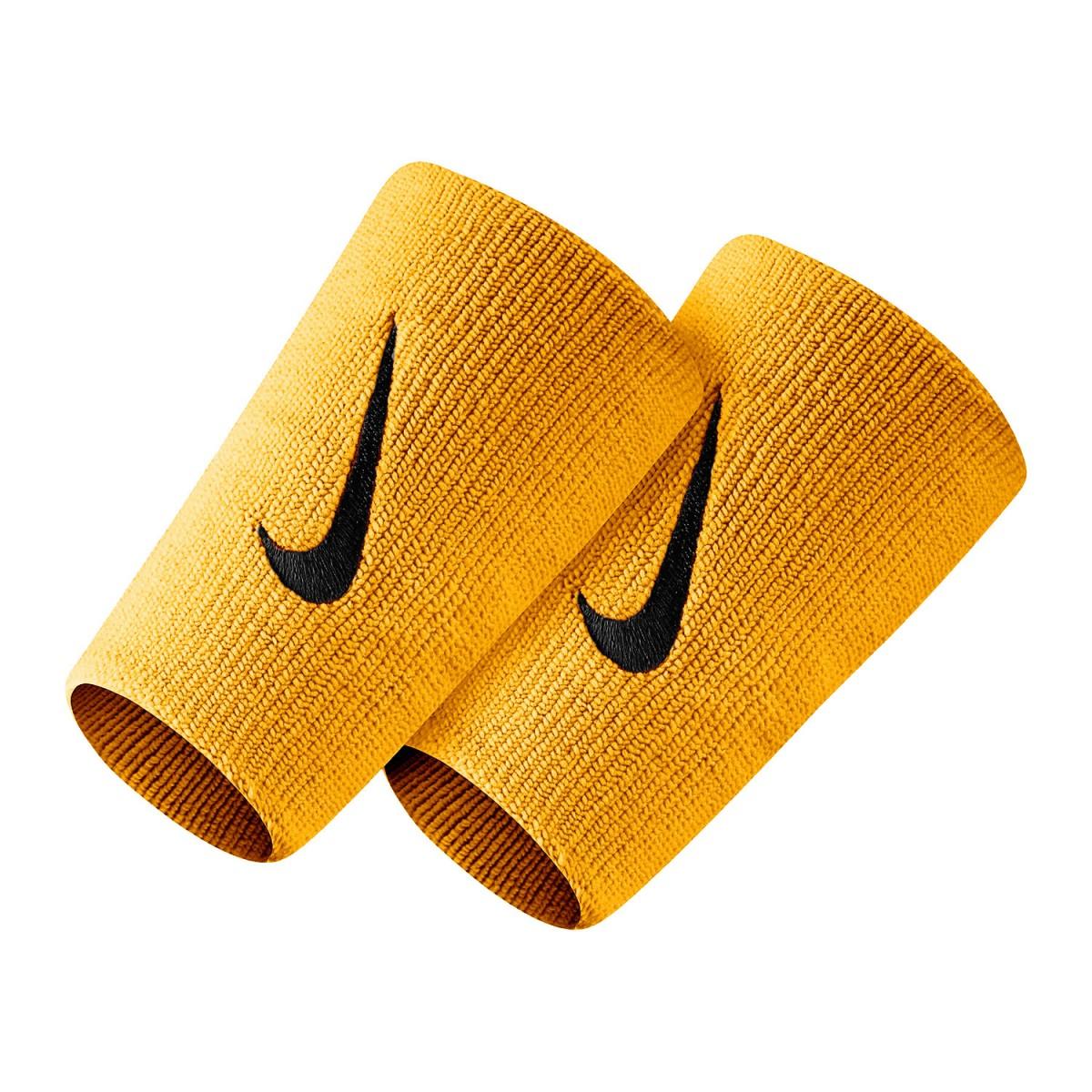 Напульсник Nike Swoosh Double-Wide laser orange/black