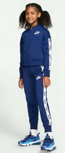 Спортивный костюм детский Nike Girl's NSW Tricot Track Suit blue void/white