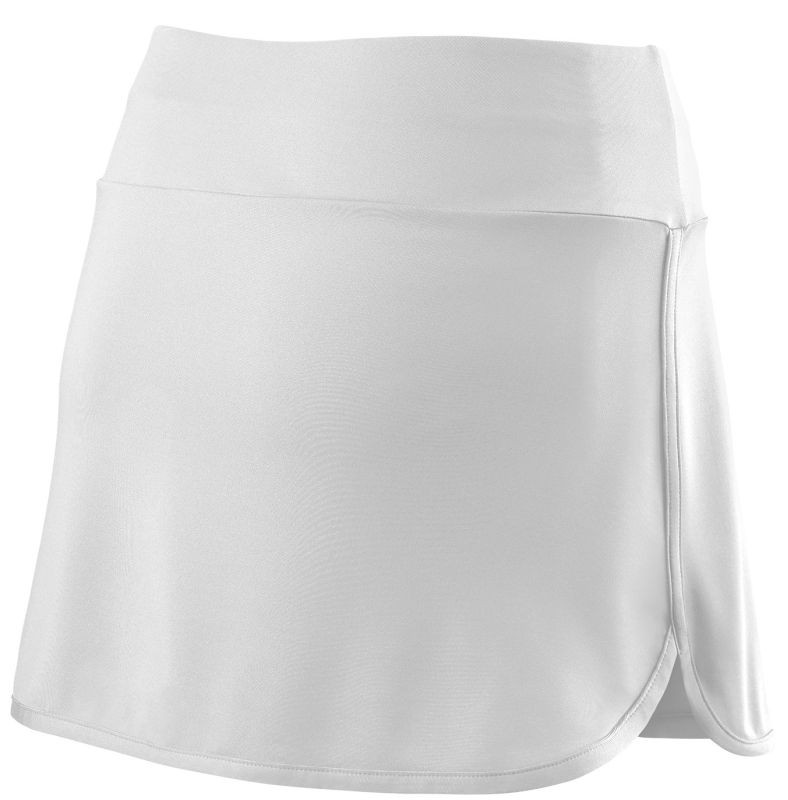 Теннисная юбка женская Wilson Team 12.5 Skirt white/black