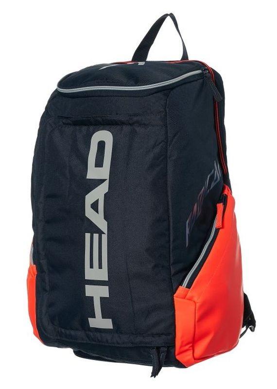 Теннисный рюкзак Head Radical Rebel Tennis Backpack orange/grey