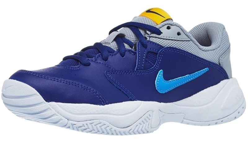 Детские теннисные кроссовки Nike Jr Court Lite 2 deep royal blue/coast