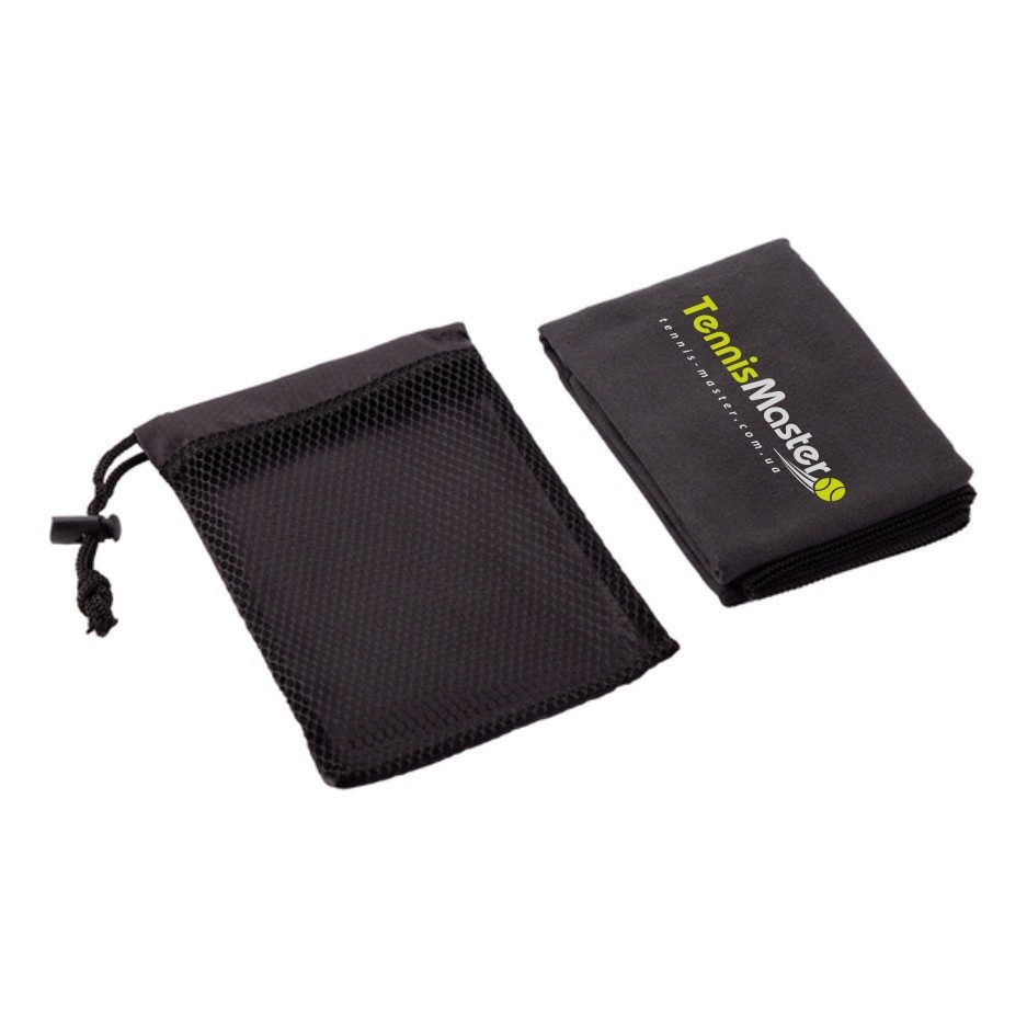 Полотенце TennisMaster Medium Towel Black