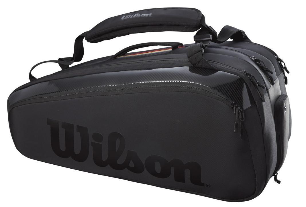 Теннисная сумка Wilson Super Tour 15 Pk Pro Staff Bag black