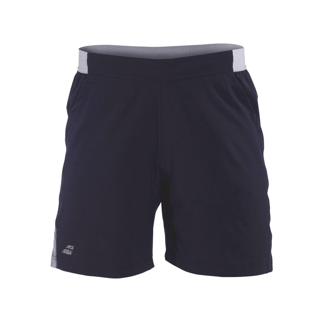 Детские теннисные шорты Babolat Performance Short Boy black/silver