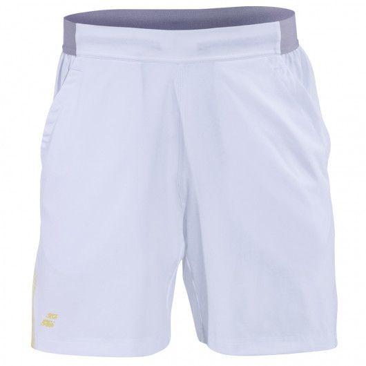 Детские теннисные шорты Babolat Performance Short Boy white/silver