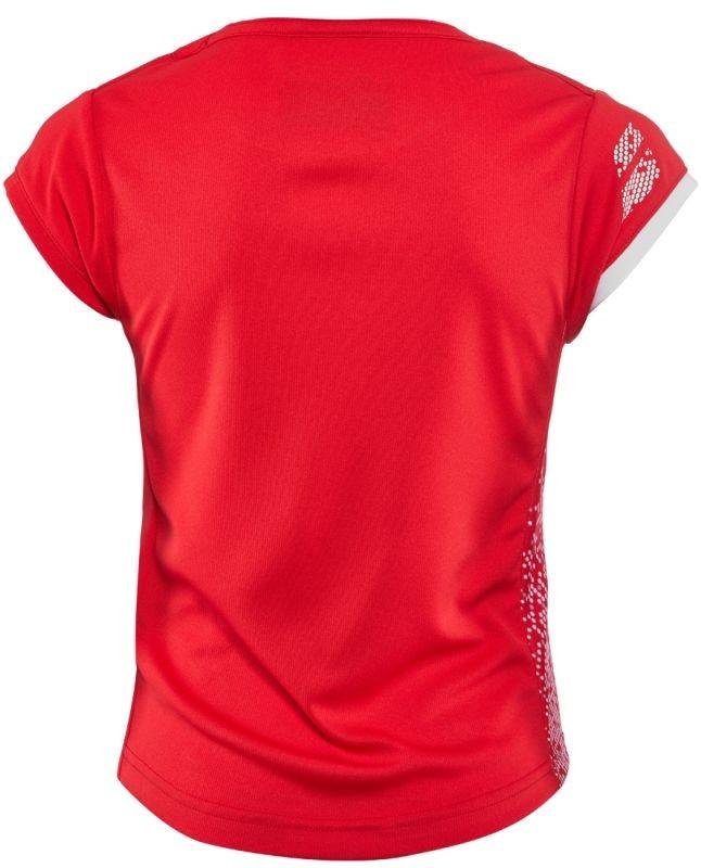 Теннисная футболка детская Babolat Performance Cap Sleeve Top Girl hibiscus