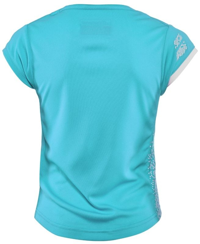 Теннисная футболка детская Babolat Performance Cap Sleeve Top Girl horizon blue
