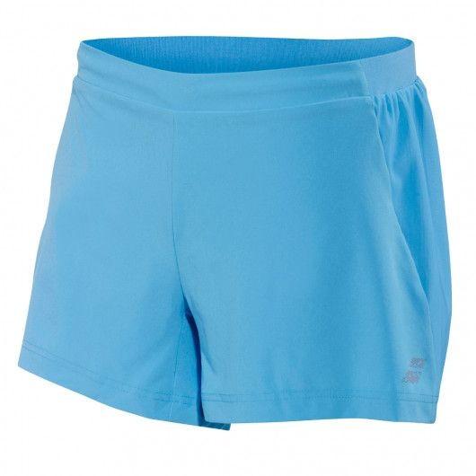 Теннисные шорты женские Babolat Performance Short Women horizon blue