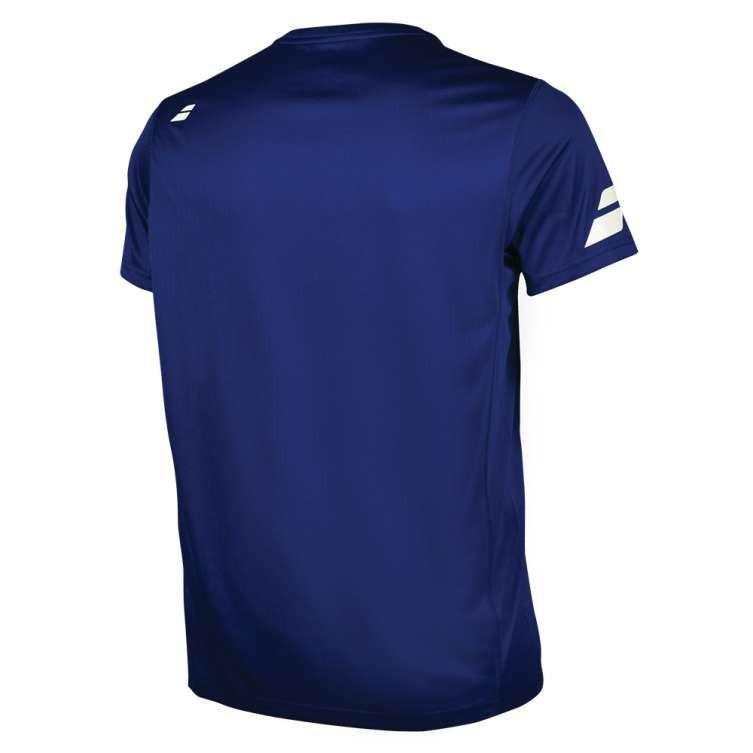 Теннисная футболка мужская Babolat Core Flag Club Tee Men estate blue
