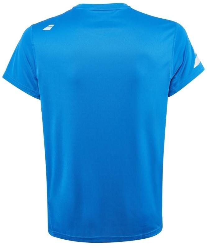 Теннисная футболка мужская Babolat Core Flag Club Tee Men diva blue