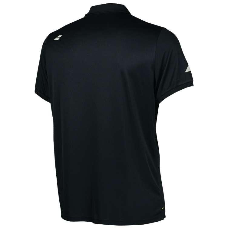 Теннисная футболка мужская Babolat Core Club Polo Men black/black поло
