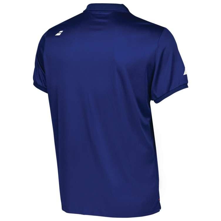 Теннисная футболка мужская Babolat Core Club Polo Men estate blue поло