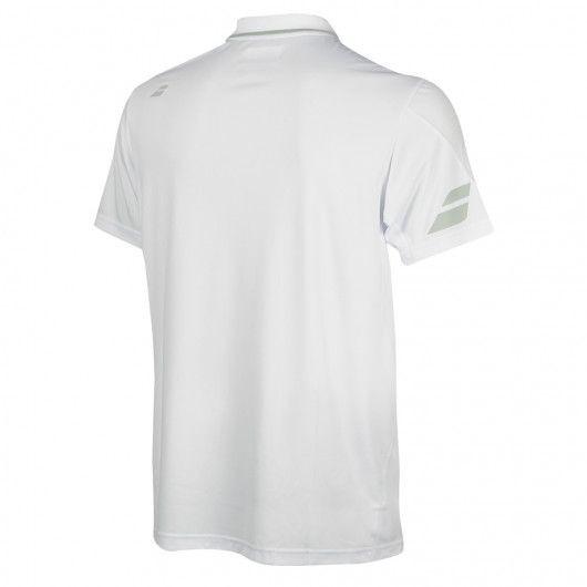 Теннисная футболка мужская Babolat Polo Performance Men white/white поло
