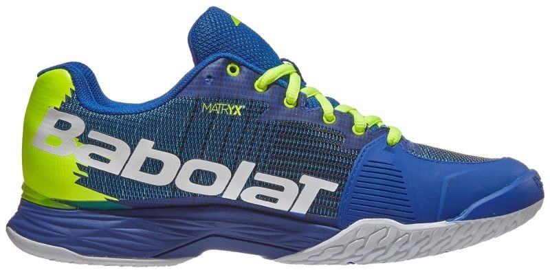 Теннисные кроссовки мужские Babolat Jet Mach II All Court Men blue/fluo aero
