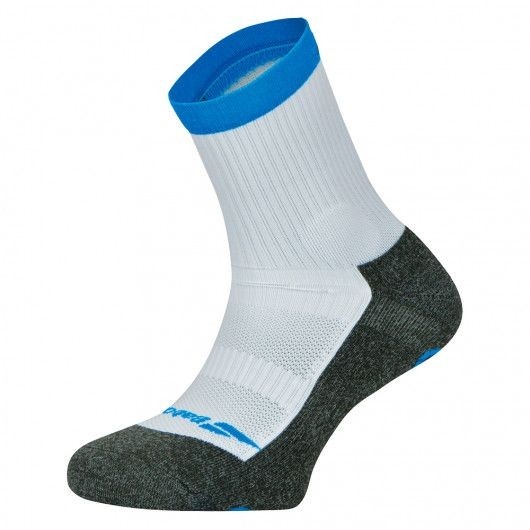 Babolat Pro 360 Sock Men 1-pack white/diva blue