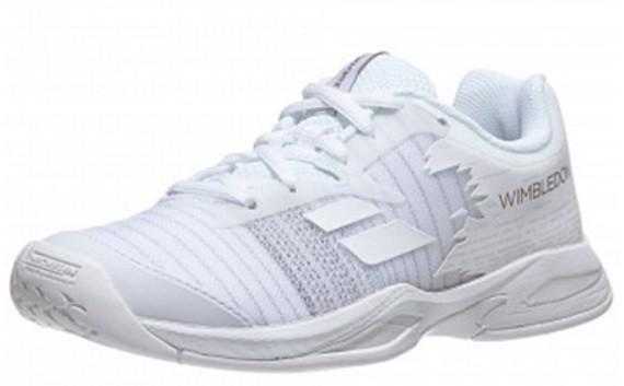 Детские теннисные кроссовки Babolat Jet All Court Wimbledon Junior white/white