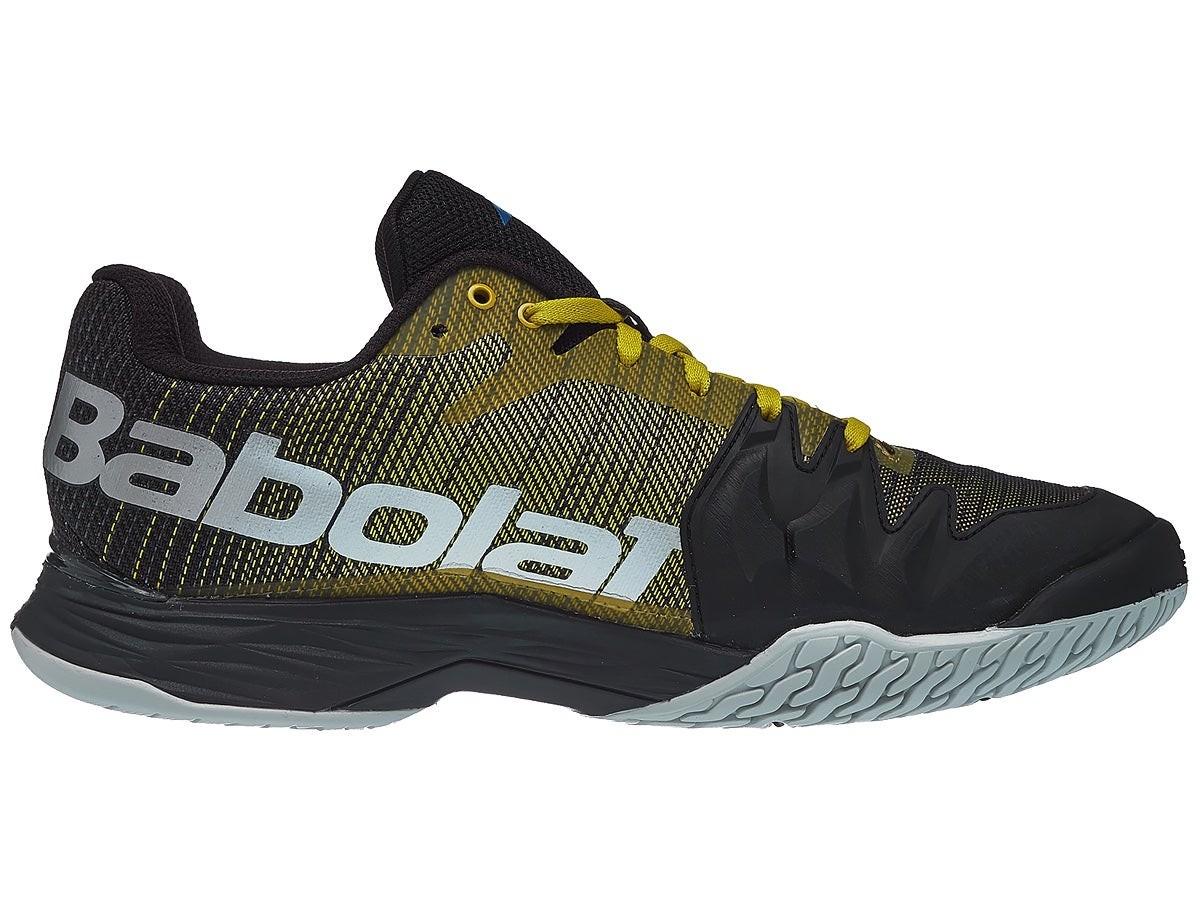 Теннисные кроссовки мужские Babolat Jet Mach II All Court Men dark yellow/black
